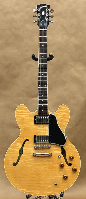 2002 Gibson ES-335 Natural Dot Neck – Chicago Pawners & Jewelers