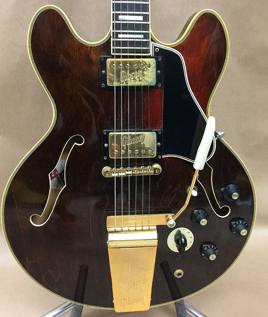 1972 Gibson ES-355 TD Stereo Walnut - Chicago Pawners & Jewelers