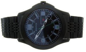 Gucci G-Timeless 126.2 Black PVD Watch - Chicago Pawners & Jewelers