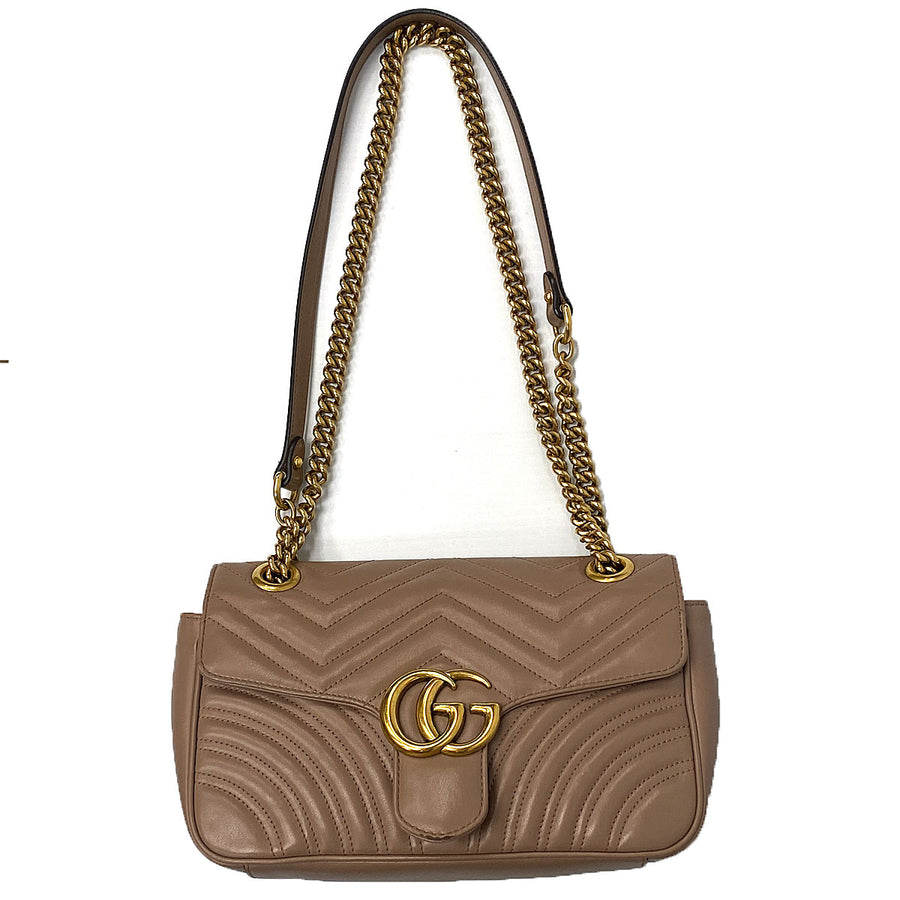 Gucci GG Marmont Small Matelassé Shoulder Bag - Chicago Pawners & Jewelers