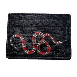 Gucci Kingsnake Card Case