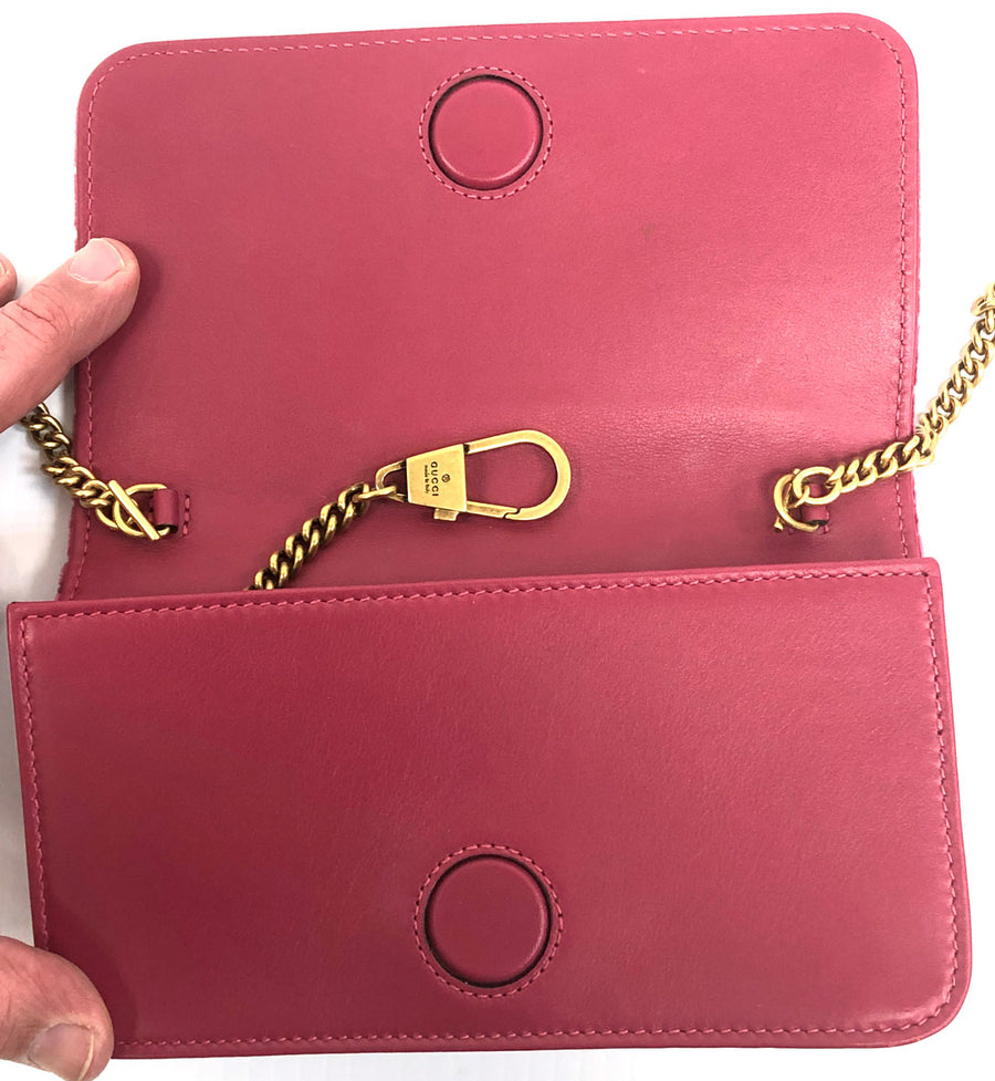 Gucci GG Marmont Velvet Small Shoulder Bag - Chicago Pawners & Jewelers