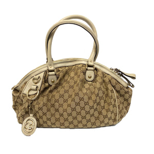 Gucci Sukey GG Canvas Medium Boston Bag