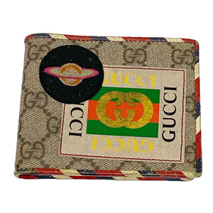 Gucci Supreme GG Courrier Wallet