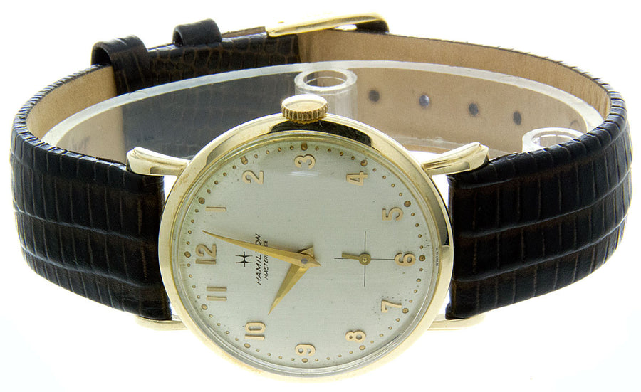 Hamilton Masterpiece 14kt Gold Watch - Chicago Pawners & Jewelers