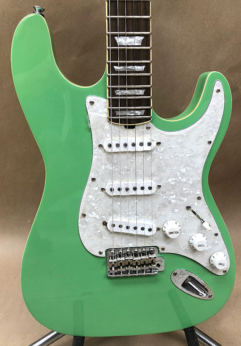 Hamiltone Custom Limited Edition Seafoam Green Set Neck Guitar - Chicago Pawners & Jewelers