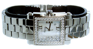 Chopard Happy Sport Square with Diamond Bezel - Chicago Pawners & Jewelers