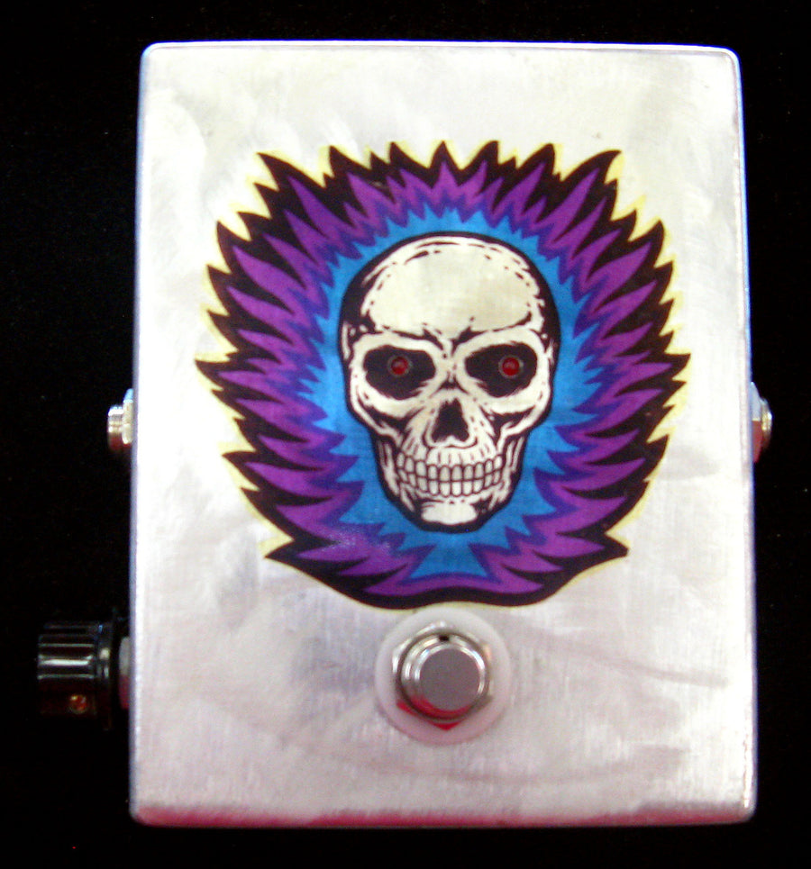 Harden Engineering Flaming Skull Distortion Pedal - Chicago Pawners & Jewelers