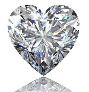 1.06ct H SI1 Heart Shape Diamond - Chicago Pawners & Jewelers