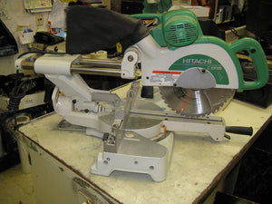 "Hitachi C10FSH 10"" Miter Saw - Chicago Pawners & Jewelers"