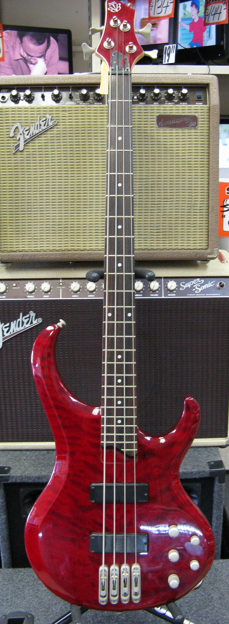 Ibanez BTB400QM Bass Guitar - Chicago Pawners & Jewelers