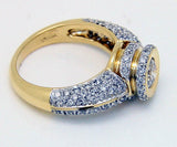 1.79ct Pave' Diamond Engagement Ring - Chicago Pawners & Jewelers