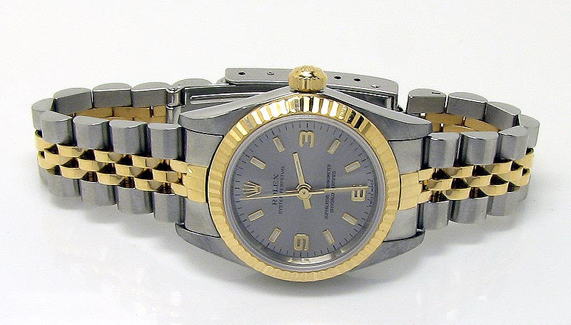 Rolex Oyster Perpetual (No Date) SS/18K