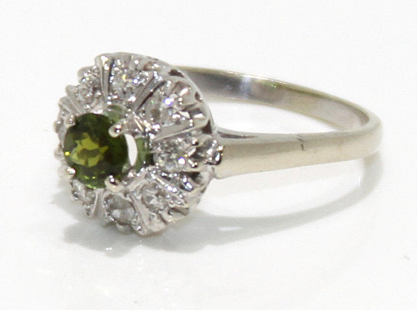 Vintage 14K Peridot & Diamond Ring – Chicago Pawners & Jewelers