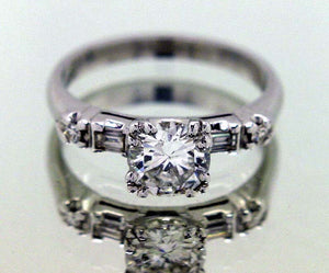 1.04ct Diamond Engagement Ring - Chicago Pawners & Jewelers