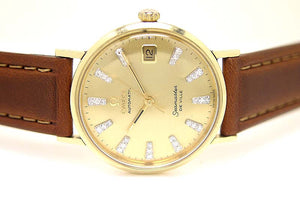 Omega Seamaster DeVille Diamond Dial - Chicago Pawners & Jewelers