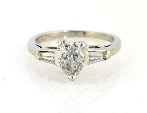 Estate 1.25ct Diamond Engagement Ring - Chicago Pawners & Jewelers