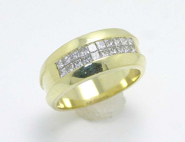 1.50ct Princess Cut Diamond Band - Chicago Pawners & Jewelers