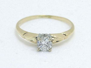 0.40ct Solitaire Diamond Engagement Ring - Chicago Pawners & Jewelers
