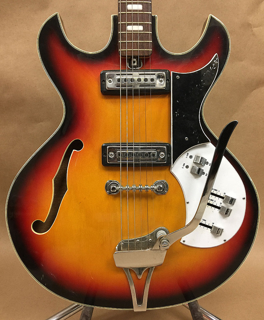 1960s Kay KH-90T Hollowbody Guitar - Chicago Pawners & Jewelers