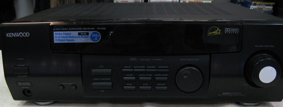 Kenwood VR-406 Audio/Video Surround Receiver - Chicago Pawners & Jewelers