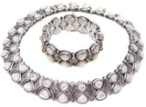 Konstantino Mother of Pearl Collar Necklace