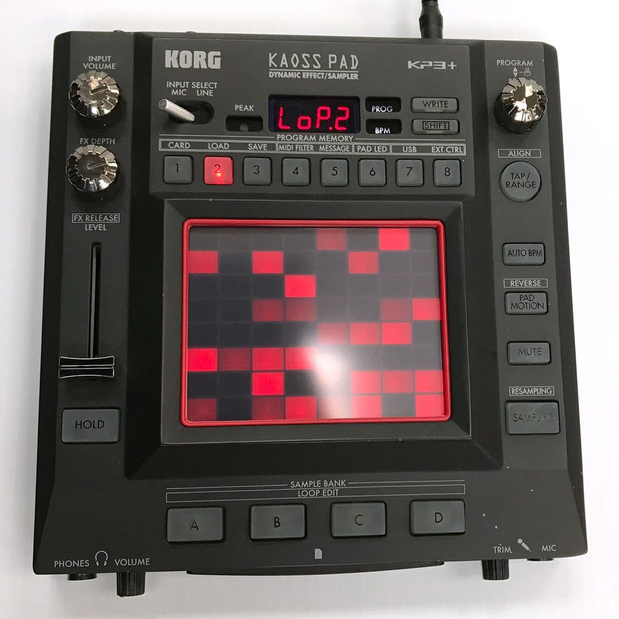 Korg KAOSS Pad KP3+ Digital Effect/Sampler