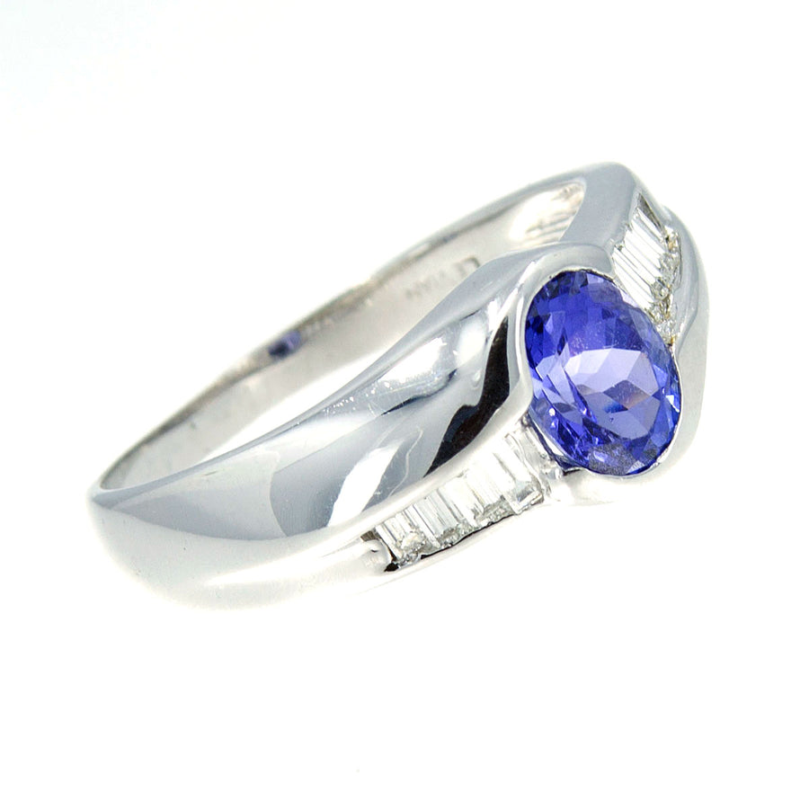 LeVian 1.75ct Tanzanite & Diamond Ring