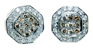 LeVian Chocolate Diamond Earrings - Chicago Pawners & Jewelers