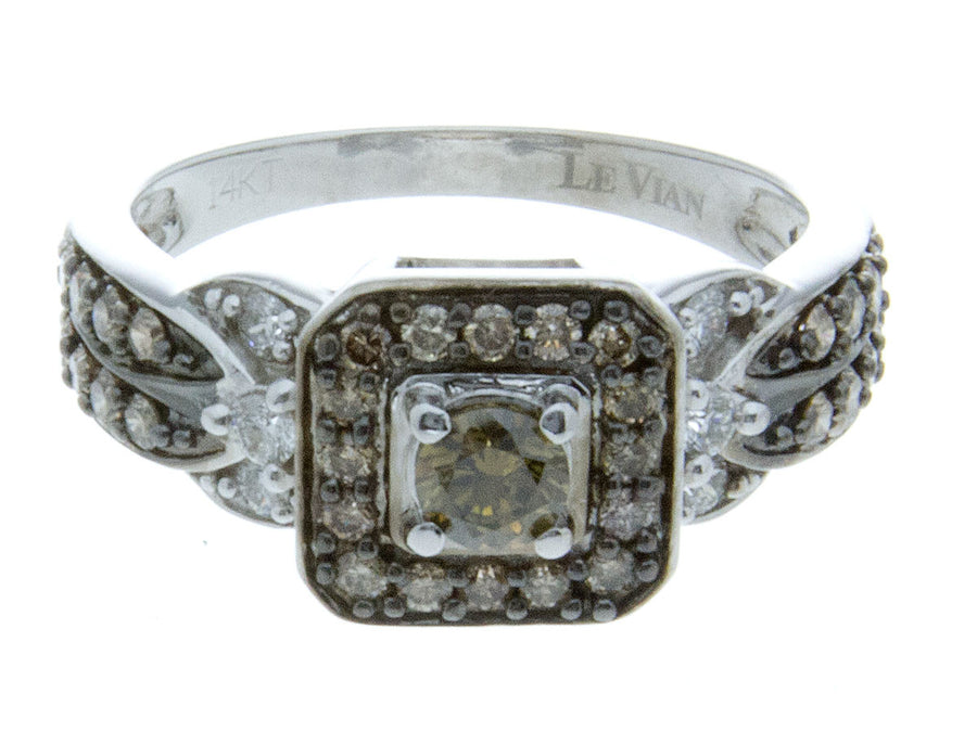 LeVian 0.93ct Chocolate Diamond Ring