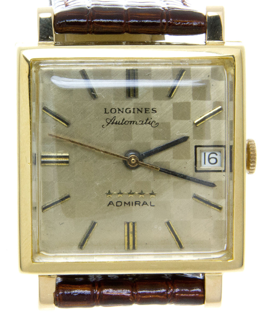 Longines Admiral 5 Star 18kt Gold - Chicago Pawners & Jewelers
