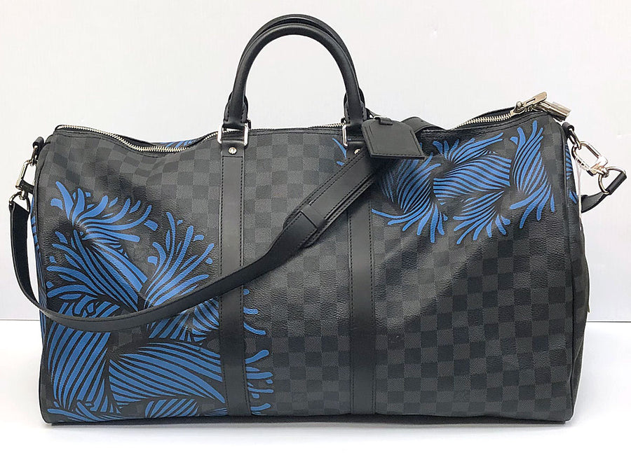 Louis Vuitton Keepall Bandouliére 55 Christopher Nemeth Limited Edition - Chicago Pawners & Jewelers