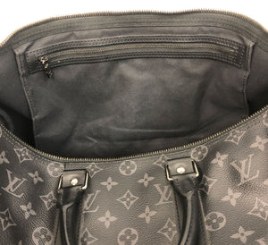 Louis Vuitton Keepall Bandouliére 45 Monogram Eclipse Canvas - Chicago Pawners & Jewelers