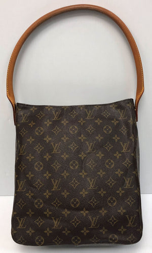 Louis Vuitton Looping Shoulder Bag GM Monogram Canvas - Chicago Pawners & Jewelers