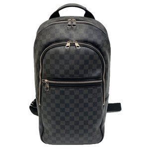 Louis Vuitton Michael Backpack Damier Graphite