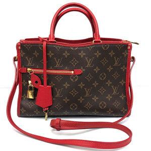 Louis Vuitton Popincourt PM Tote Cherry