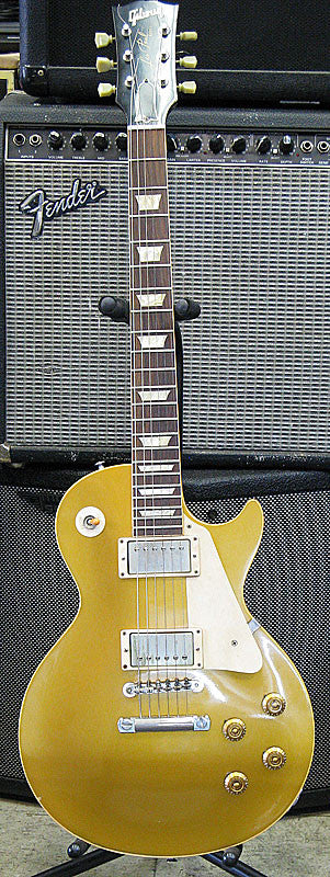 Gibson 1957 Les Paul GoldTop Reissue - Chicago Pawners & Jewelers