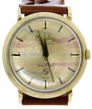 Lucien Piccard 14kt Seashark Automatique - Chicago Pawners & Jewelers