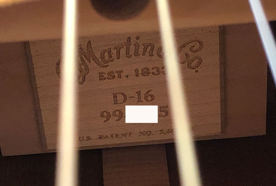 Martin D-16 Acoustic Guitar 2004 - Chicago Pawners & Jewelers