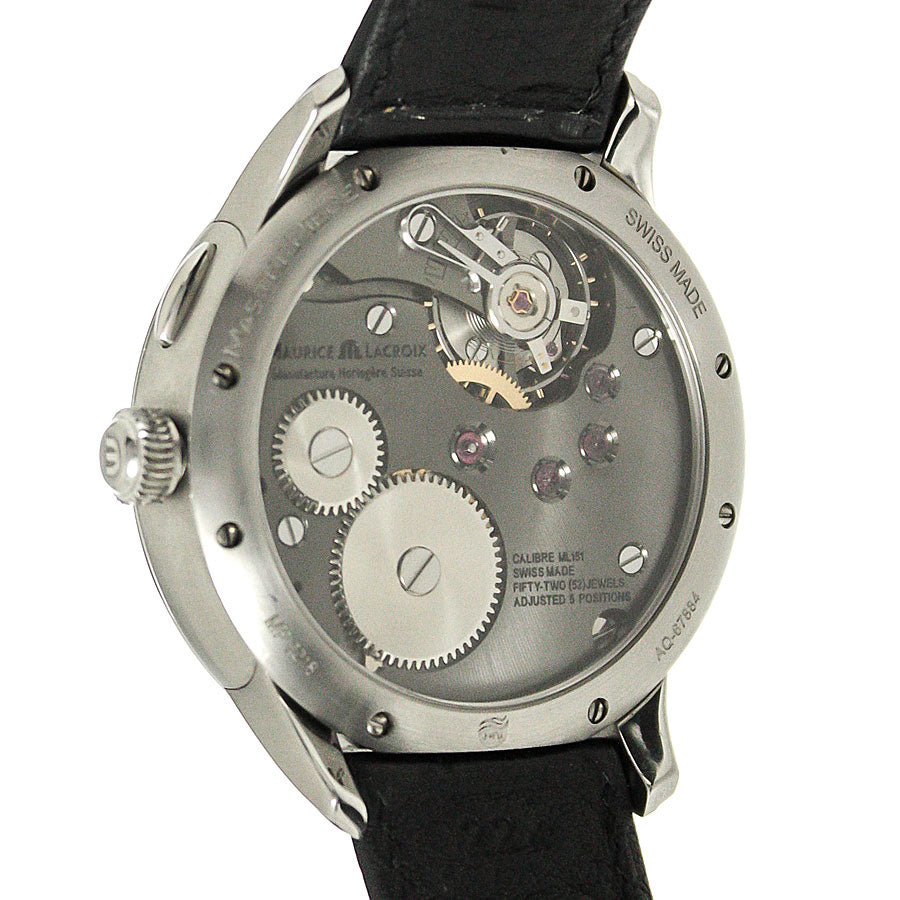 Maurice Lacroix Masterpiece Dual Retrograde GMT - Chicago Pawners & Jewelers