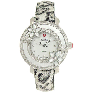 Michele Cloette Fleur Diamond Flower Watch - Chicago Pawners & Jewelers