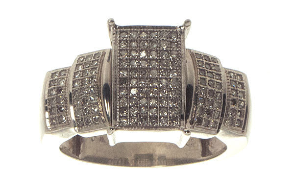 Micropave Diamond Ring - Chicago Pawners & Jewelers