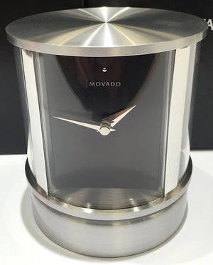 Movado Rotating Desk Clock - Chicago Pawners & Jewelers