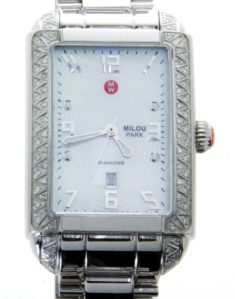 Michele Milou Park Diamond Watch