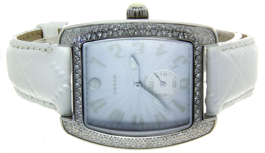 Michele Urban Blanc Diamond Watch - Chicago Pawners & Jewelers