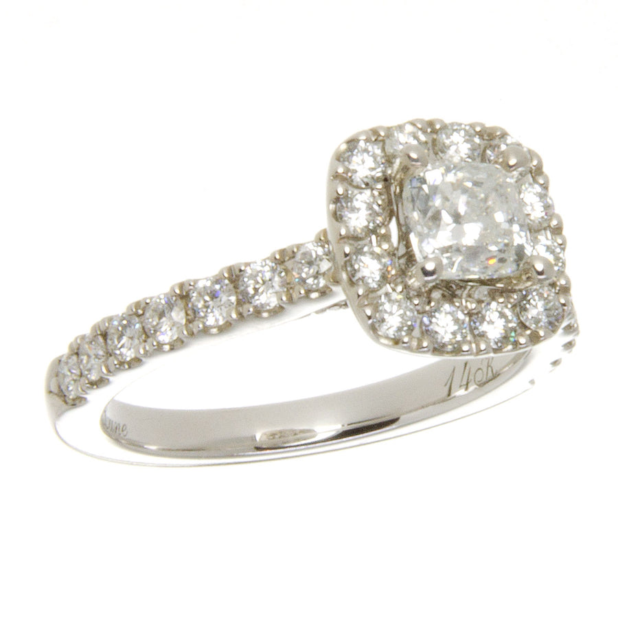 Neil Lane Diamond Halo Engagement Ring - Chicago Pawners & Jewelers