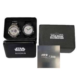 Nixon Star Wars Celebration Chicago 2019 Limited Edition 2 Watch Set - Chicago Pawners & Jewelers