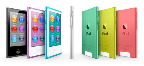 Apple iPods - All models & versions