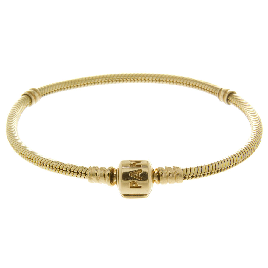 Pandora 14kt Moments Gold Clasp Bracelet - Chicago Pawners & Jewelers