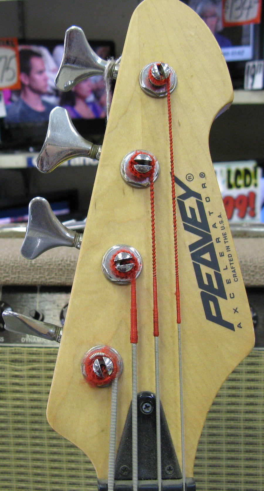 Peavey Axcelerator Bass Guitar - Chicago Pawners & Jewelers